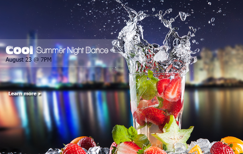 August Cool Summer Night Dance