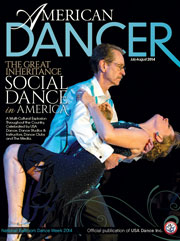 American Dancer Cover